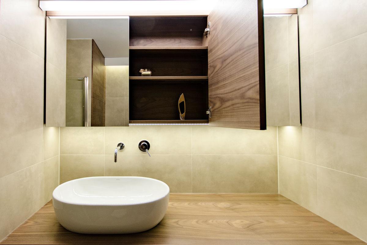 Contemporary bathroom renovation kreatif design for Modern bathroom renovation pictures
