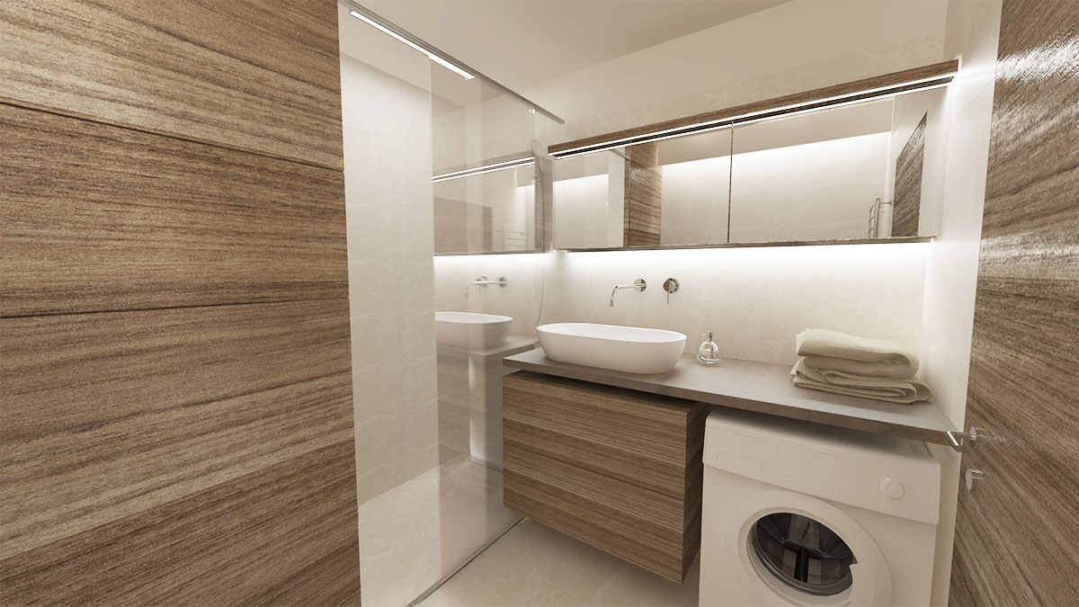 Visualization bathroom kreatif design for Bathroom design visualizer