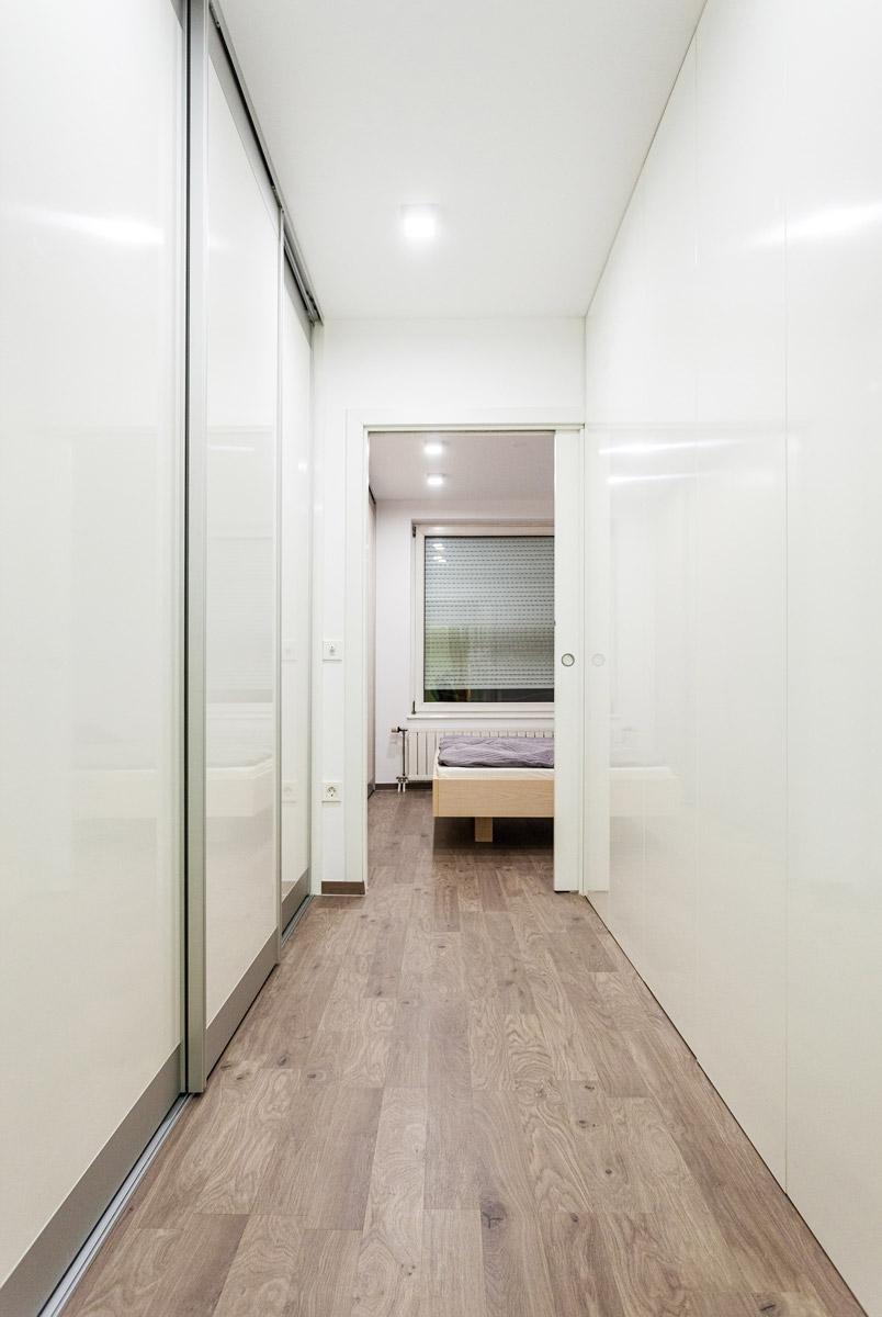 Modern minimalistic hallway
