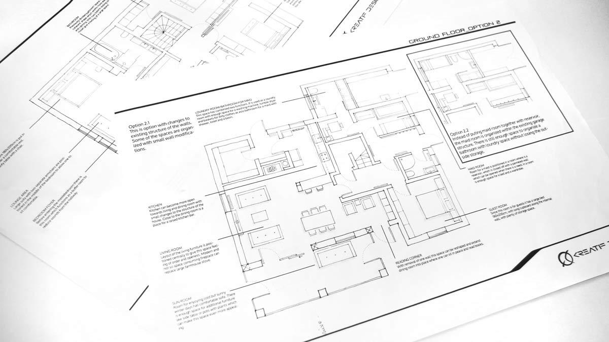 načrti arhitektov