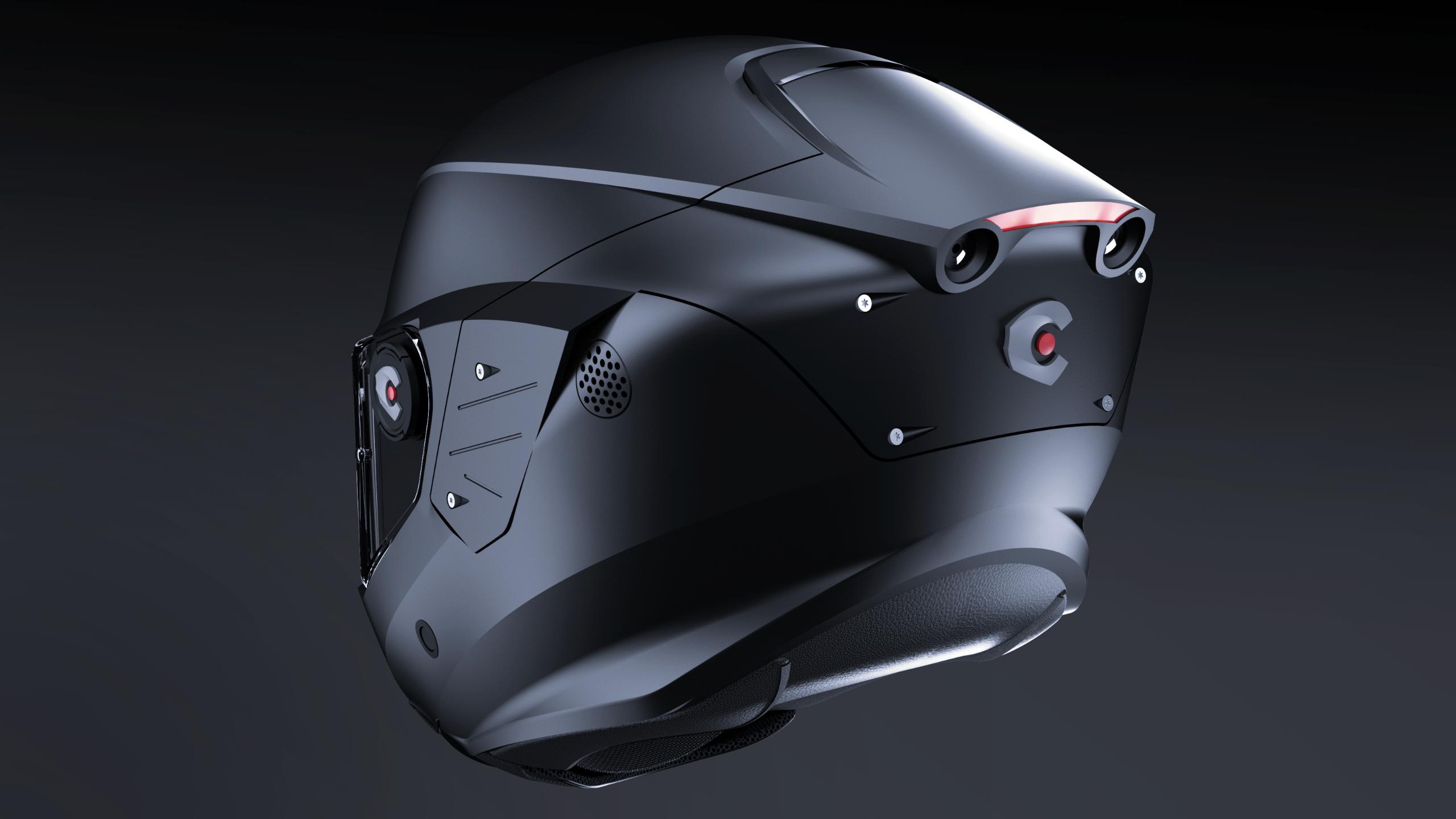 dizajn čelade za motocikliste