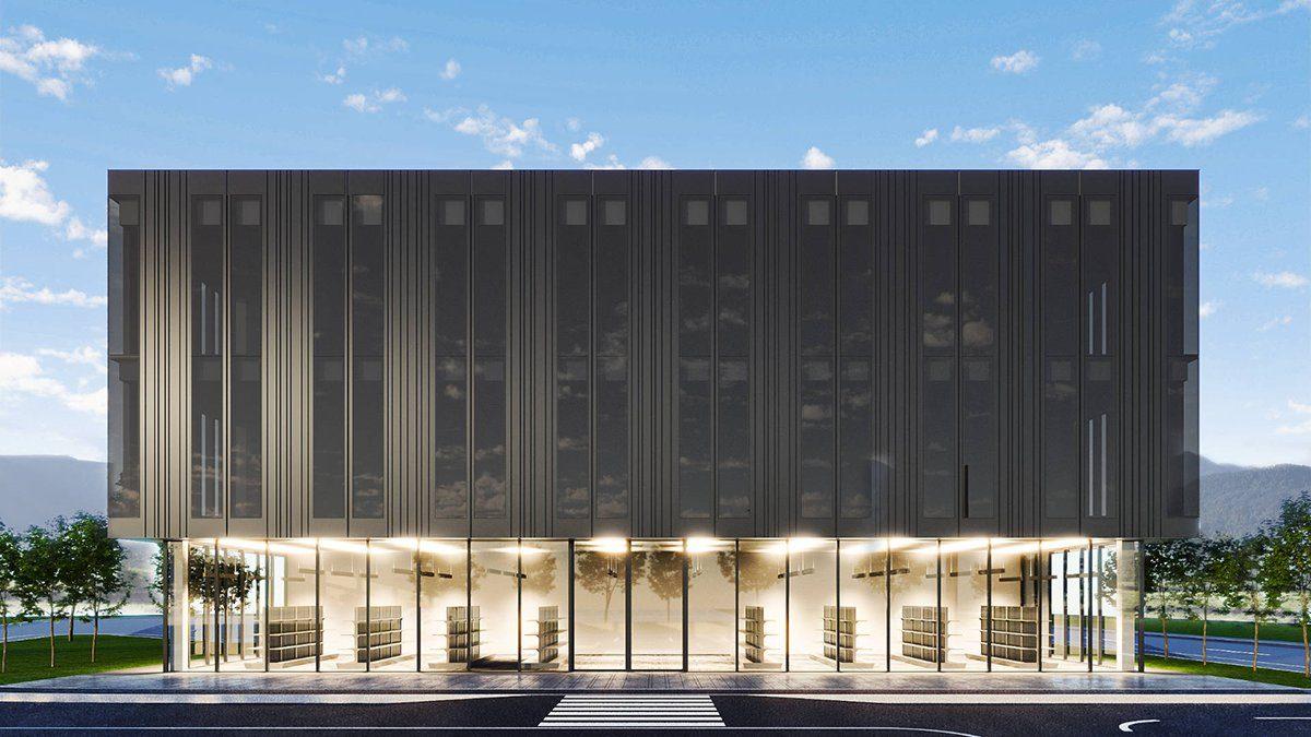 Petrovic headquarters building visualisation